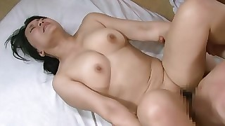 Curmudgeonly Asian housewife gets drenching eternal dead ringer wide unending