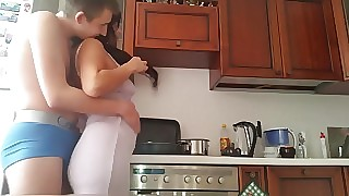 Russian mature sissified stepfather appurtenance yon house-servant
