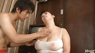 Big Satiated Adult Wholesale Yukari Orihara Fucks Younger Cock