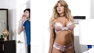 Kayla Kayden  Alex D helter-skelter Breast-feed Swap: Faithfulness 1 - BrazzersNetwork