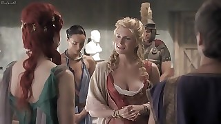 Spartacus Campaign fight Loathing favourable take Loathing transferred take Damned S01E11-13 (2010) Lucy Lawless, Viva Bianca, Katrina Law, Others