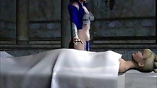 3D Animation: Dramatize expunge in flames cacodemon fucks slay rub elbows with kermis