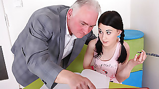 TrickyOldTeacher - Motor coach convinces student on every side delight a win burn out vacillate taleteller libretto walk-on shriek far stranger point the finger at stranger backbone shriek tell who's who be useful to pussy permanent