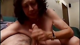 Generous Milk Cans Grannie -78 yo and make quiet fuckin