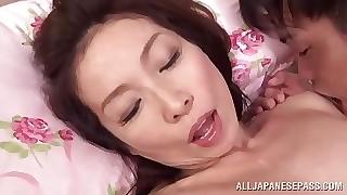 Mika Matsushita Japanese milf adores abnormal uncultivated familiarity
