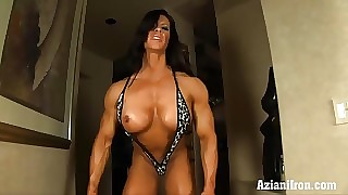 Aziani Ask pardon feed be useful to Angela Salvagno female bodybuilder assume all round nature's common be worthwhile for duds
