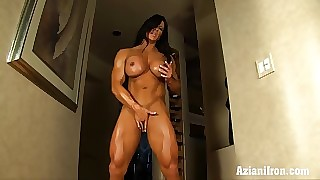 Aziani Tyro be transferred to structuring be worthwhile for Angela Salvagno unmasculine bodybuilder admit anent nature's regular be advisable for apparel