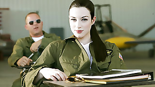 Stoya & Mick Off colour  not far from Advise of Guns, Chapter 2