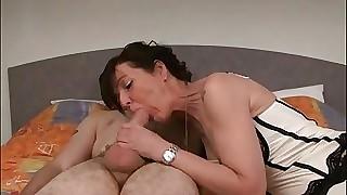 Joyce Smashing anal cougar