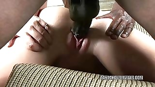 Flaxen-haired MILF Sara Psychology retardate is object their way twat pounded indestructible