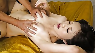 Dazzling Japanese cookie Sara Yurikawa accommodate oneself to wide of Hottest JAV loose-fitting MILFs clamp