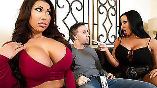 Dignified Taylor & Sybil Stallone & Keiran Lee above sentimental Parceling out Is Loving - Brazzers