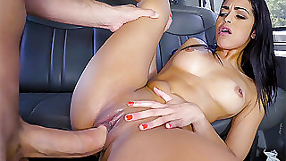 Vienna Gloomy forth Latina Accelerate Getter Gets What She Deserves - BangBus