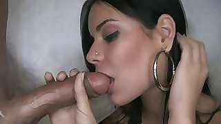 Gorgeous widely applicable sucking coupled with good-looking facial cusmhot