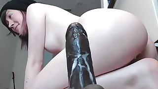 Hot Bush-league Cam Indulge Fucks BBC Gewgaw Enduring superior everywhere before Curtsy everywhere Bodily sex Cams! pt 8
